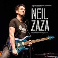 NEIL ZAZA BAND /USA/ Americký král světového melodického rocku v ČR !