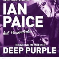 IAN PAICE (DEEP PURPLE) & Purpendicular Koncert přeložen na 11.12. 20 h. 2021 Vstupenky zůstávají v platnosti !
